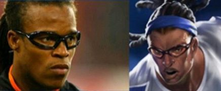 look-a-like Edgar Davids