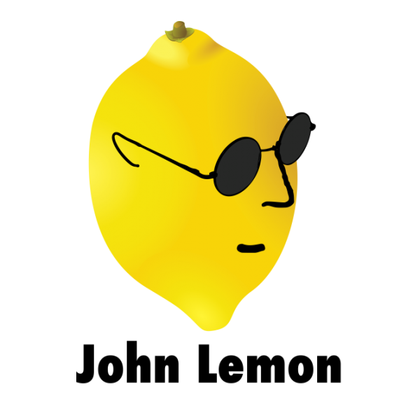 johnlemon white